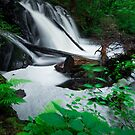 Waterfall in Chapleau, Ontario by justinrusso