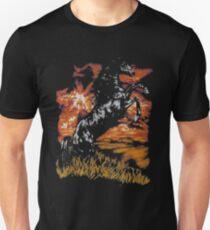 Charlie Horse Night Unisex T-Shirt