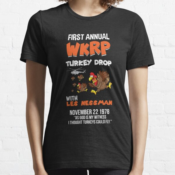 First Annual WKRP Turkey Drop T-shirt Essential T-Shirt