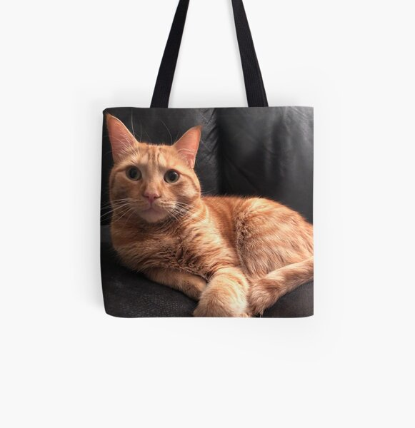 Ginger cat  All Over Print Tote Bag