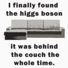 I found the Higgs Boson by wolfcat