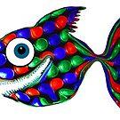 Disco fish by Juhan Rodrik