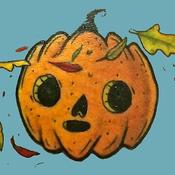 Pumpkin With Round Eyes by VictorIos