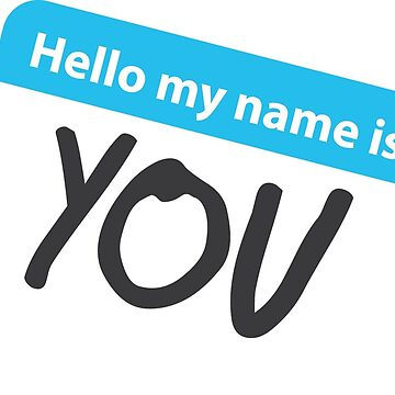 Hello my name is: by Plego