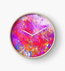 Flamand rose  Horloge
