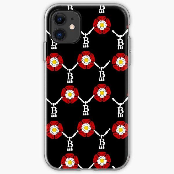 Anne Boleyn tudor rose iPhone Soft Case