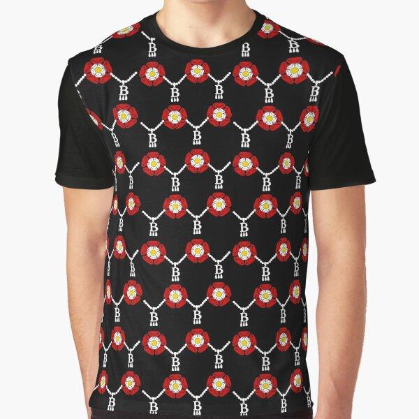 Anne Boleyn tudor rose Graphic T-Shirt