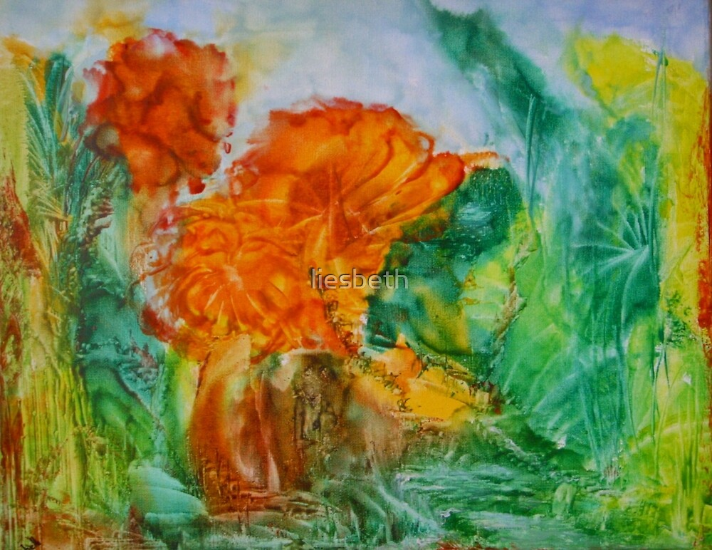 inside the world of flowers by liesbeth