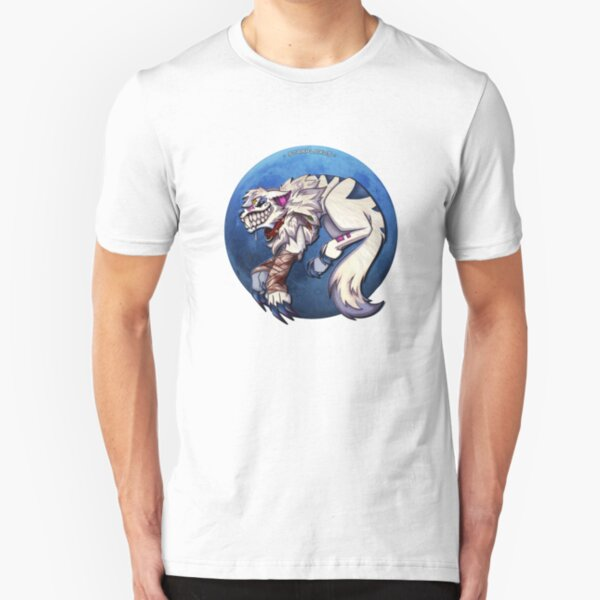 feral moon Slim Fit T-Shirt