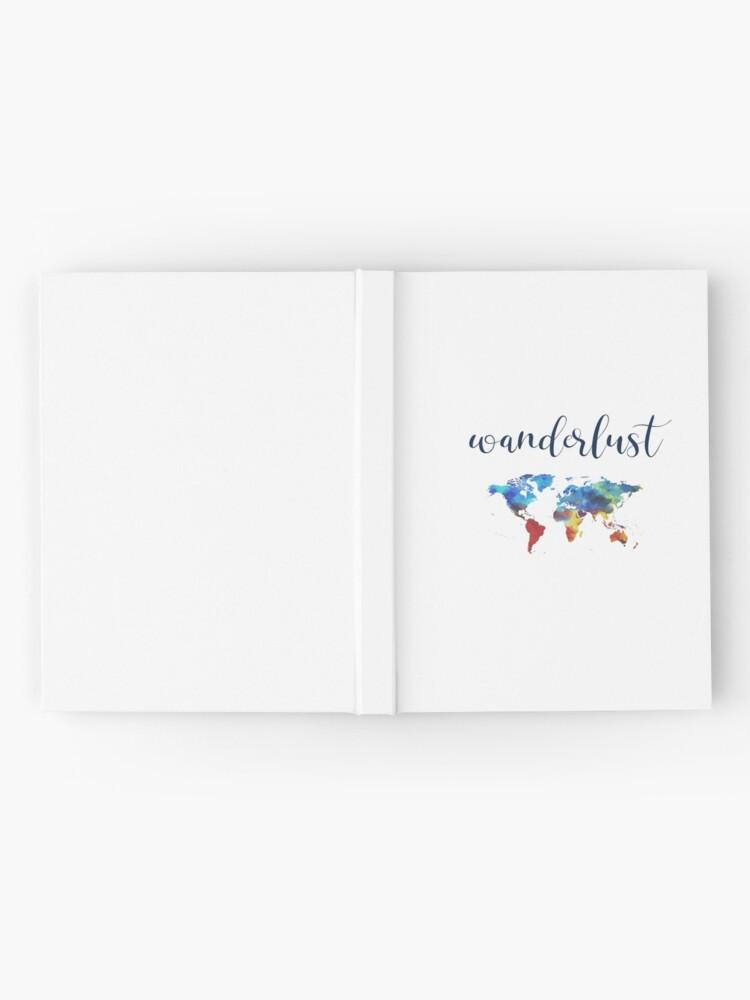 Alternate view of WANDERLUST Hardcover Journal