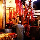 Meat Maket  by colourfreestyle