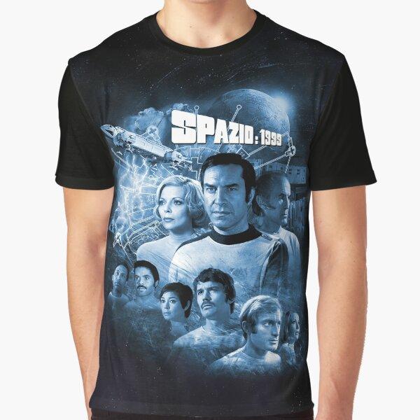 ALPHAN BLUE MOON 1 SPAZIO: 1999 LOGO Graphic T-Shirt