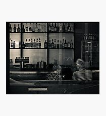 At the Bar Photographic Print