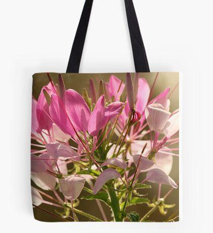 Spider Flower (Cleome) Tote Bag