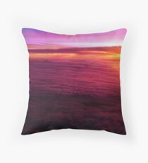 Sunset from 30,000 feet Throw Pillow