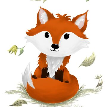 Cute Fox by LindasDesign