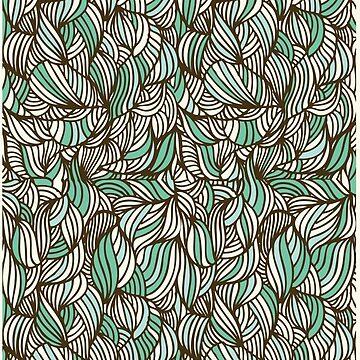 seaweed organic pattern by marianabeldi