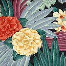 Art Deco Floral by Happy Dog Swag