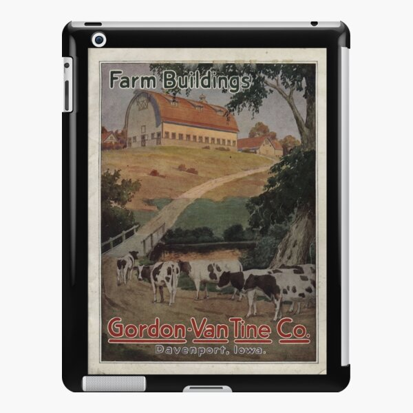 Farm Building Catalog 1923 iPad Snap Case