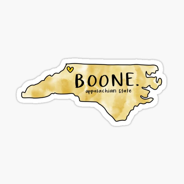 BOONE Sticker