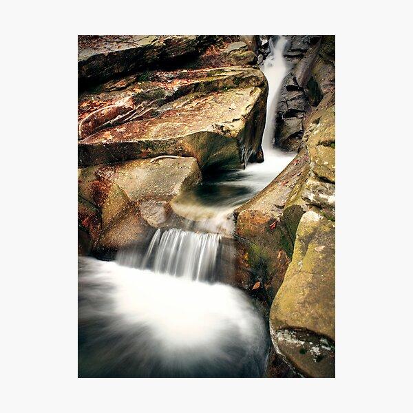 Chutes and Tubs Photographic Print
