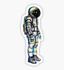 Psychedelischer Astronaut Sticker