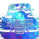1941 Cadillac Front ABS Blue by DKDigital