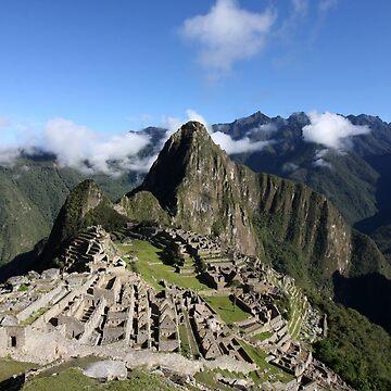 Machu Picchu, Peru by aodhain