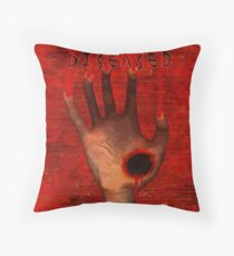 The Diseased Throw Pillow