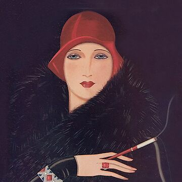 Art Deco Flapper by tcarey