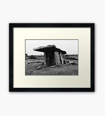 Tomb of the great Framed Print