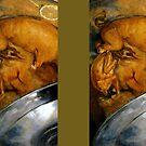 "Giuseppe Arcimboldo ""The cook"" by Alexandra Dahl"