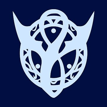 Dragon Symbol - Light Blue by joshcartoonguy