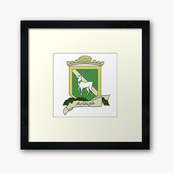 Arms of the House of Arleigh Framed Art Print