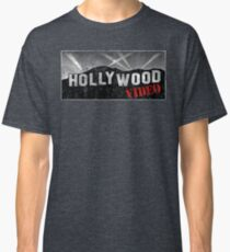 Camiseta clásica Video de Hollywood