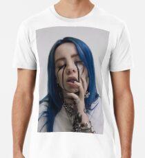 Billie Elish Schwarze Tränen Männer Premium T-Shirts