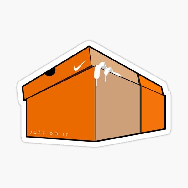 Swoosh Box Sticker