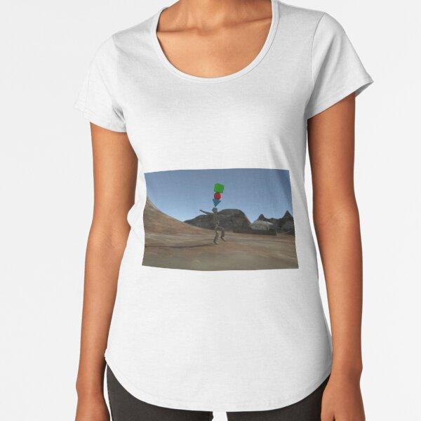 Acrobatics Premium Scoop T-Shirt