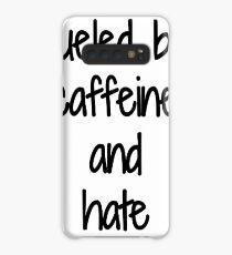 Caffeine And Hate Funny Gift Idea Hülle & Klebefolie für Samsung Galaxy