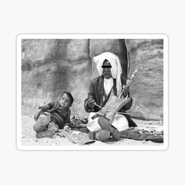Bedouin man Sticker