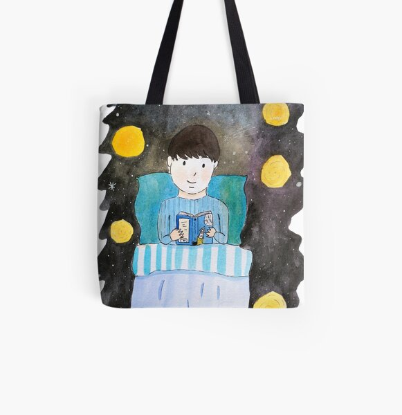 Escapism at its Finest! All Over Print Tote Bag