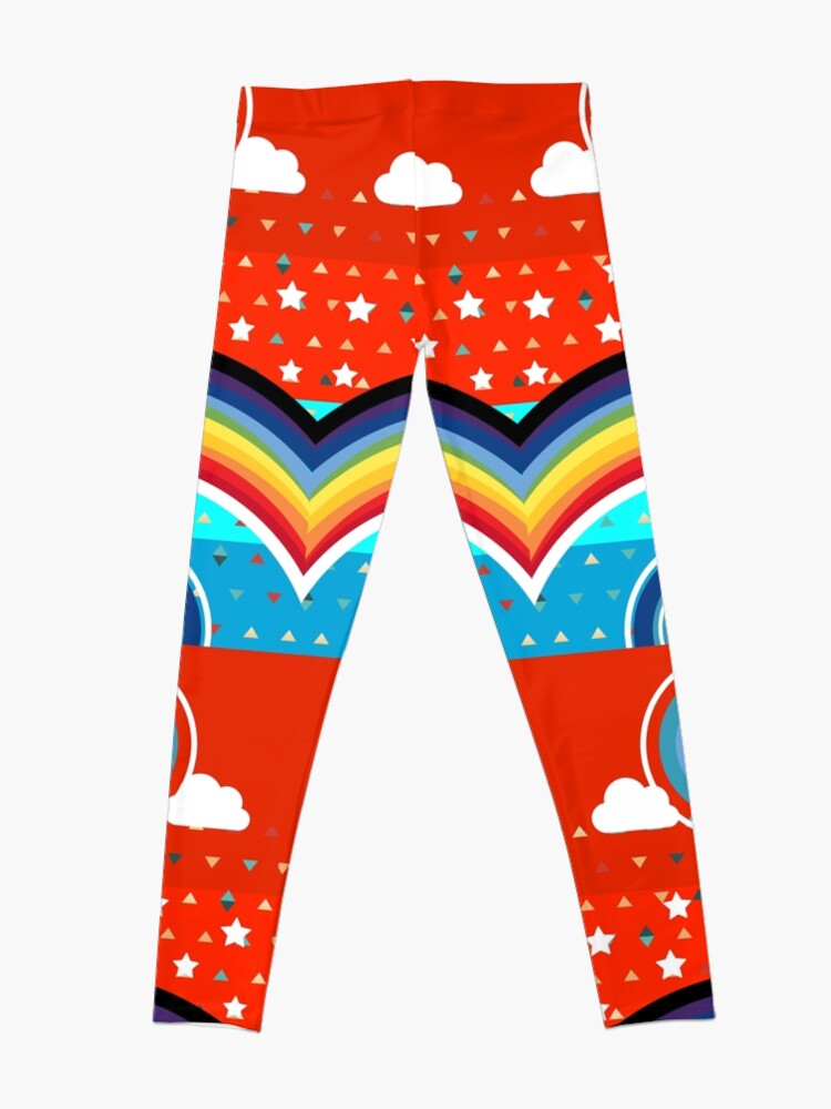 Alternate view of Christmas is a Game Leggings