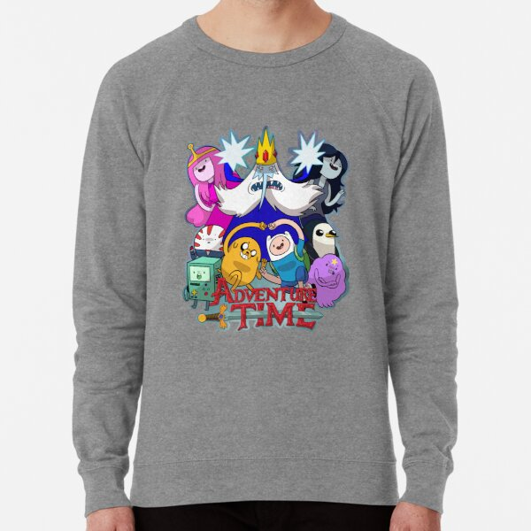 Adventure Time Cartoon Finn Jake Mathematical Pullover Sweatshirt Hoodie Sweater