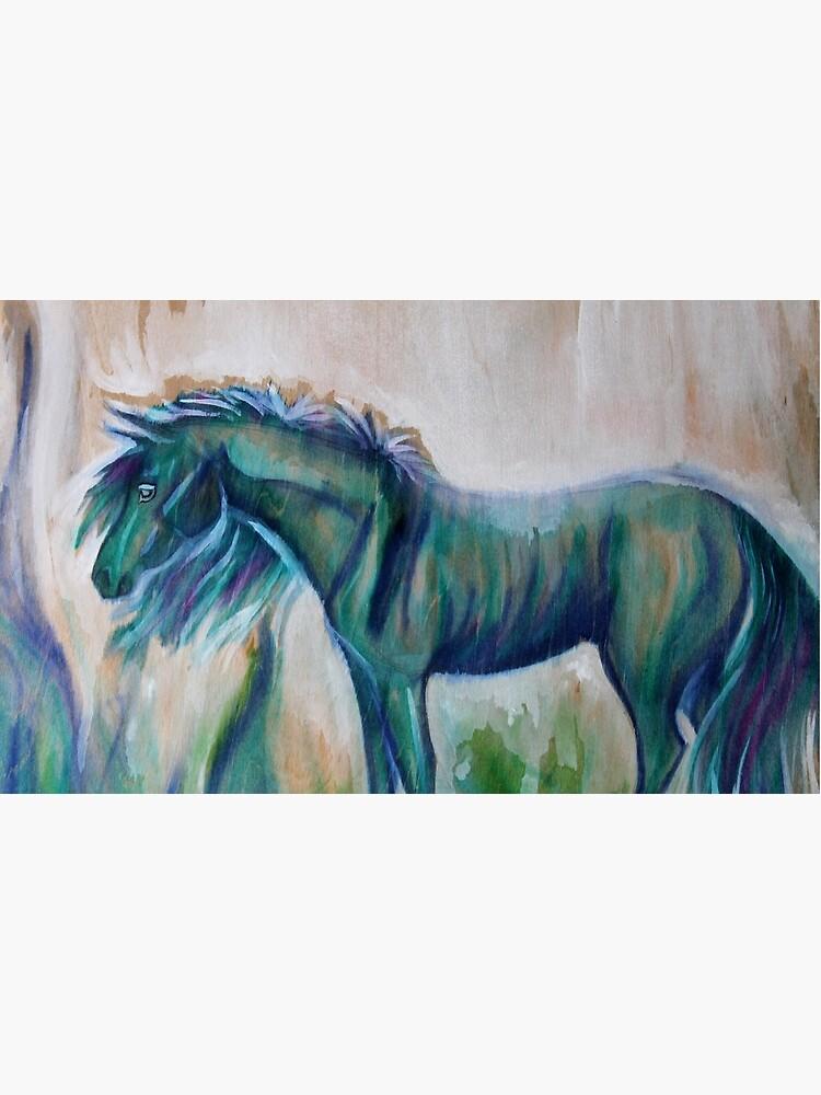 Little Blue Pony  by KNCArtisty