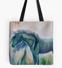 Little Blue Pony  Tote Bag