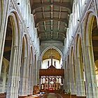Inside St Mary the Virgin in Saffron Walden by Graeme  Hyde