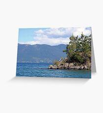Flathead Lake Greeting Card