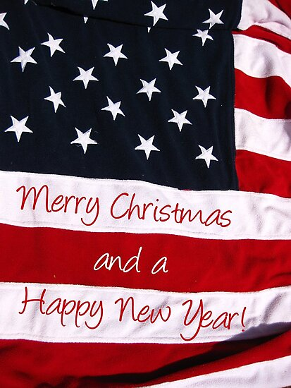An American Christmas greeting by portosabbia