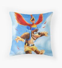 Banjo Kazooie Artwork Throw Pillow