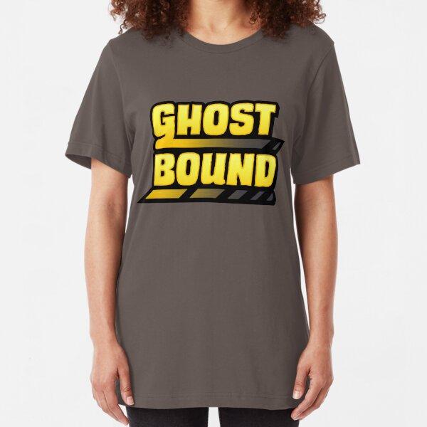 Ghost Bound - Vertical Slim Fit T-Shirt